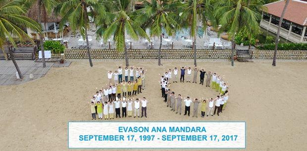 Evason Ana Mandara va fêter ses 20 ans